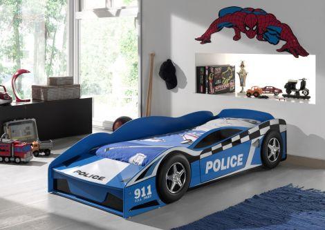 Lit junior voiture de police