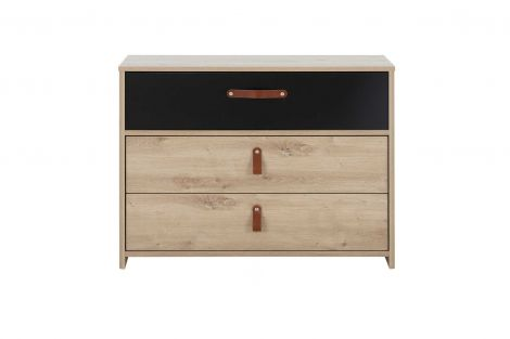 Commode Liam 3 lades - artisan eik