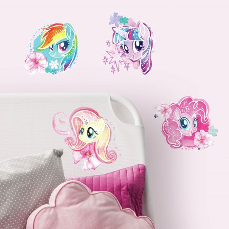 Stickers muraux My Little Pony The Movie Watercolour