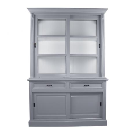 Buffetkast Provence - 150 cm - grijs / wit