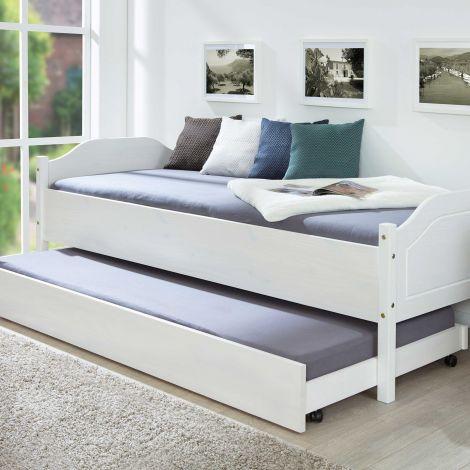Bedlade 200cm voor bedden Interlink - wit
