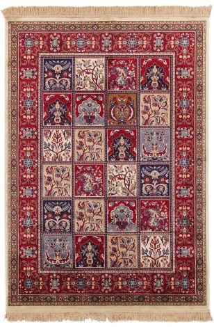 Vloerkleed Bizantine Berber 190x140  - rood