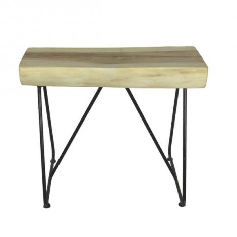 Kruk Mangala 60x45cm - munggur/zwart