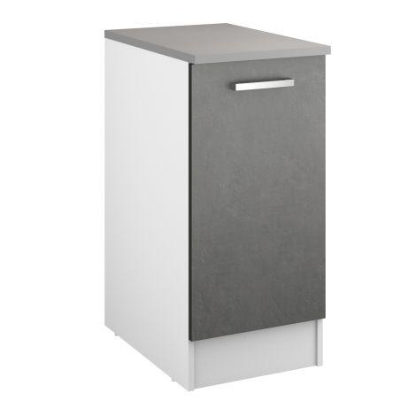 Onderkast Eli 40 cm met deur - beton