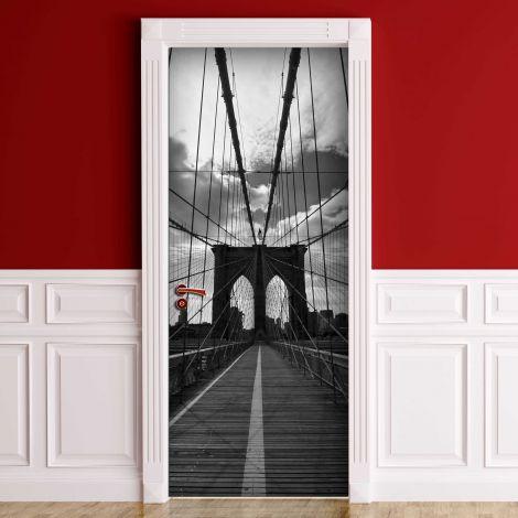 Deursticker Brooklyn Bridge
