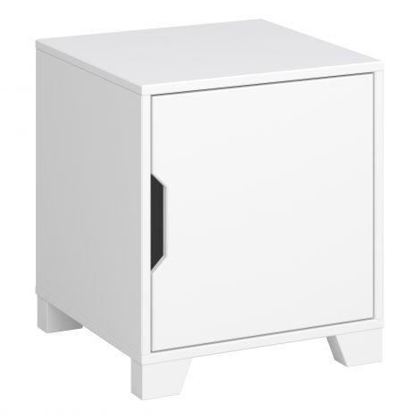 Nachtkastje Loki 1 deur - wit
