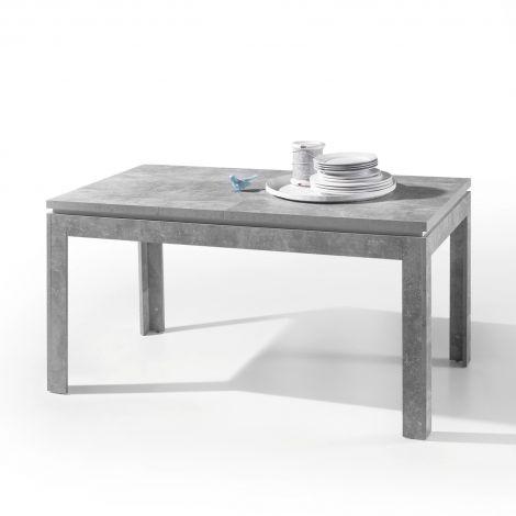 Verlengbare eettafel Stanno 140/180cm - beton