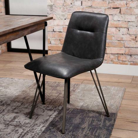 Set de 4 chaises Saddie
