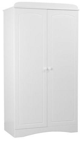 Armoire 2 portes Sophie - blanc