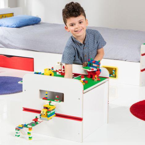 Speelgoedkist Room 2 Build - wit