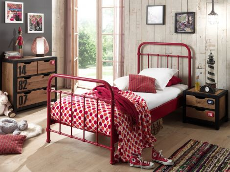 Kinderbed New York - rood