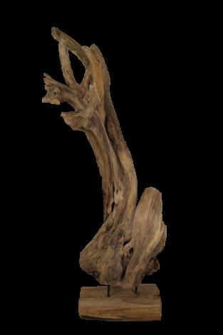 Décoration Erosi hias - naturel - bois ancien