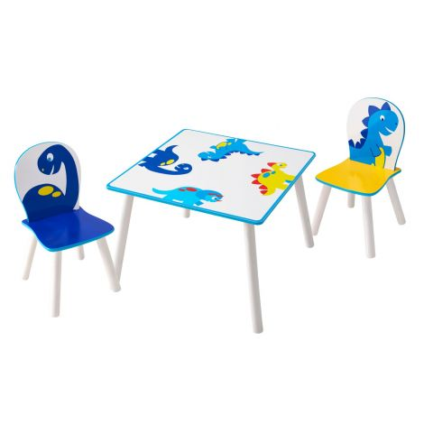 Table et chaises d'enfant Happy Dino