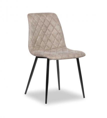 Set van 2 stoelen Maletto - grijs