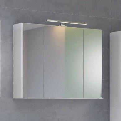 Armoire de toilette Brama 120cm 3 portes - blanc