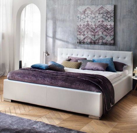Bed Delphine 160x200 - wit