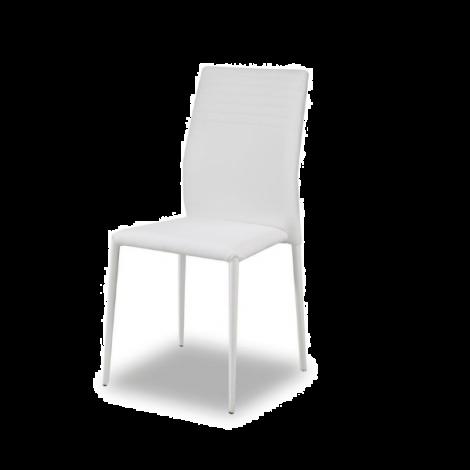 Lot de 6 chaises Broadway - blanc