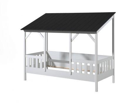 Huisbed Malia 90x200 - zwart dak