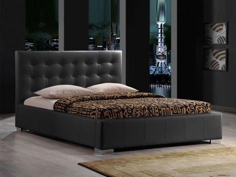 Bed Eros 140x200 - zwart