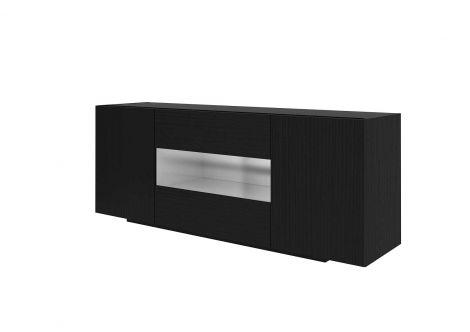 Dressoir / Tv-meubel Ivo - zwart