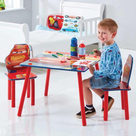 Table et chaises d'enfant Cars