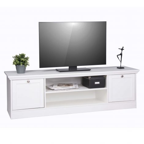 Tv-meubel Landwood 160cm - wit