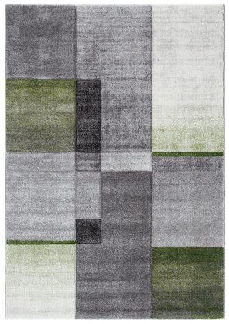 Vloerkleed Timelapse 190x133 – Grijs/groen