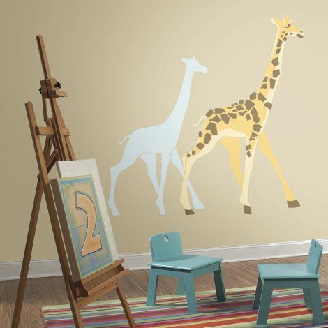Stickers muraux Girafe