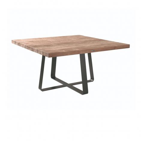 Table de jardin Margarite 80x80 - teck