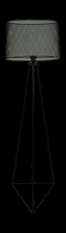Vloerlamp - powder coated black