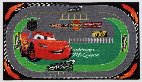 Disney Cars Racing Rug 140X80