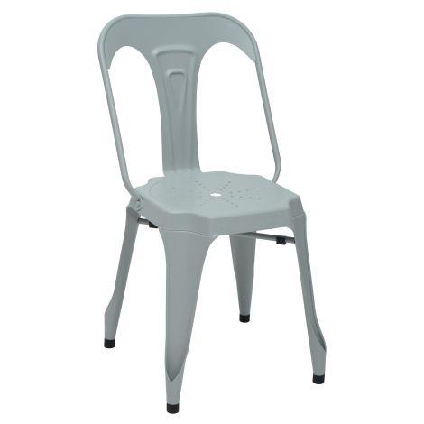 Set van 2 stoelen Industry - grijs