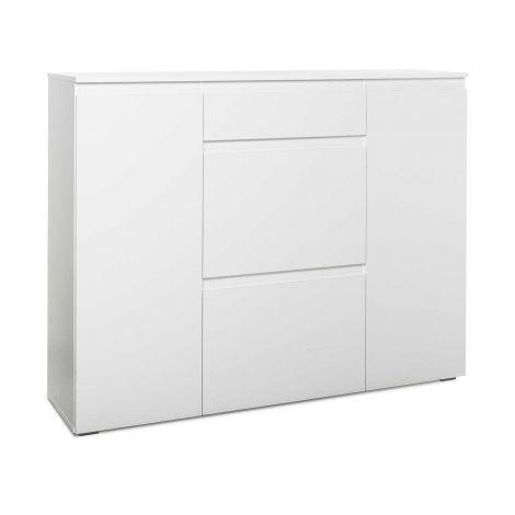 Schoenenkast Image 3 laden & 2 deuren - wit