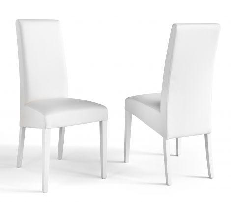 Set van 2 stoelen Roko - wit