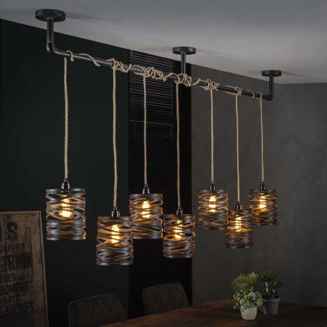 Hanglamp Misto 7 lampen
