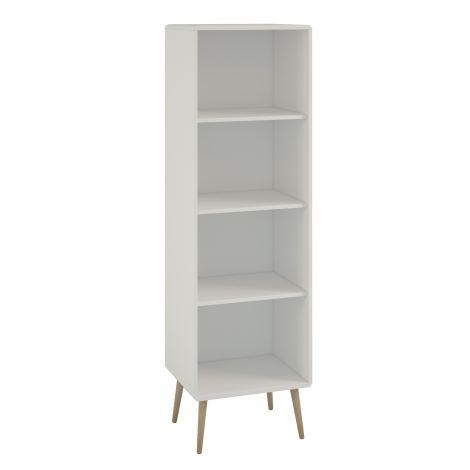 Boekenkast Linz 49cm - wit