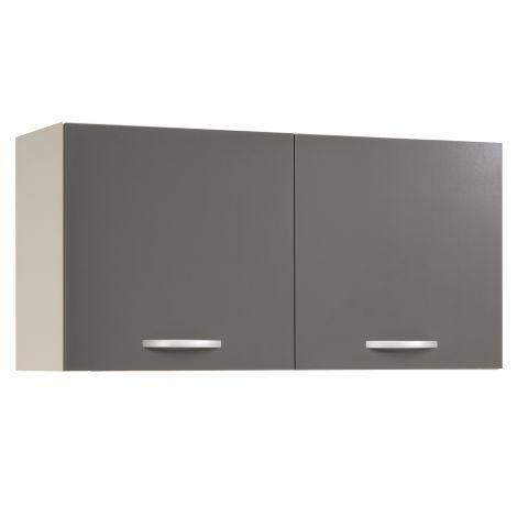 Bovenkast Eko 120 cm - grijs
