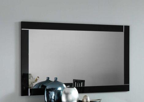 Spiegel Modena 180 cm - zwart/wit