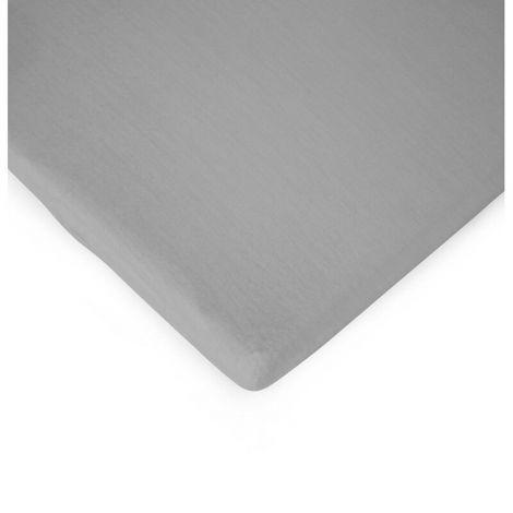 Hoeslaken voor babybox 75x95cm - grijs