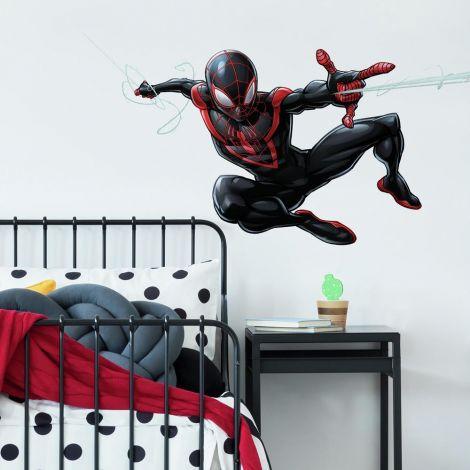 Muursticker Spider-Man Miles Morales
