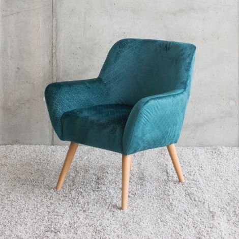 Fauteuil Mabelle - blauw