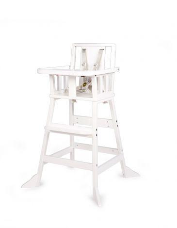 Chaise haute vintage - blanc