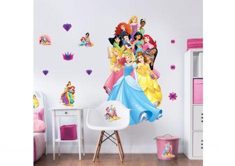 XL muursticker Disney Princess
