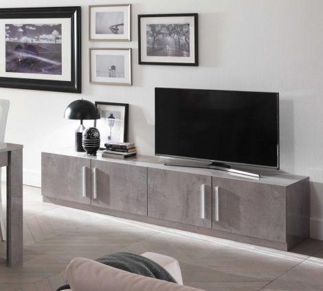 Tv-meubel Greta 208 cm - beton