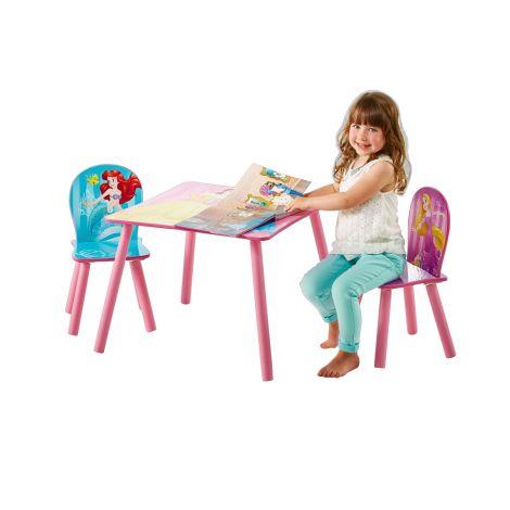 Kindertafel en stoeltjes Disney Princess