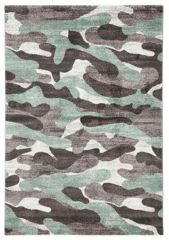 Vloerkleed Camouflage 230x160 Kinderen - Groen