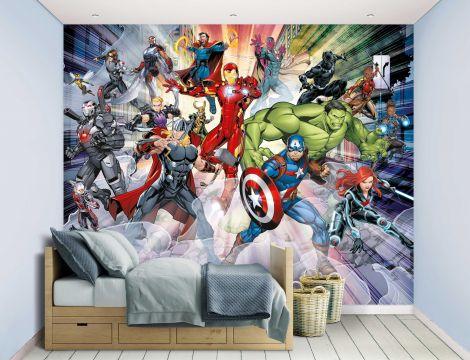 Kinderbehang Avengers