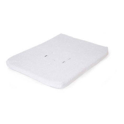 Waterproof aankleedkussenhoes voor verzorgingstafel en -unit Evolux - wit