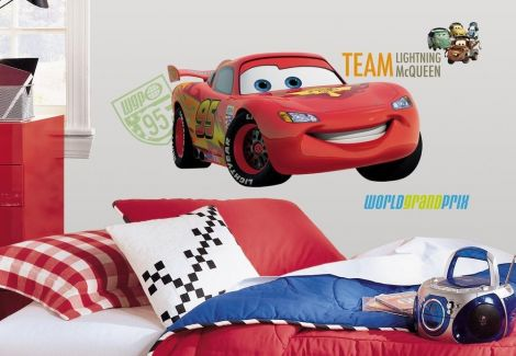 RoomMates stickers muraux - Cars 2 XL