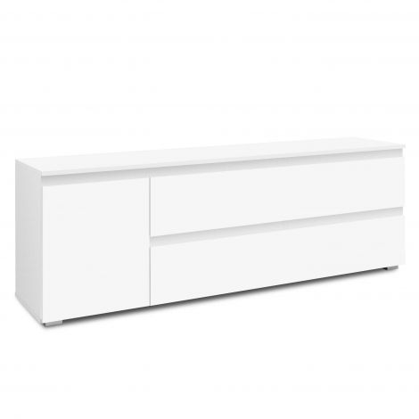 Tv-meubel Image 160cm 2 laden & 1 deur - wit